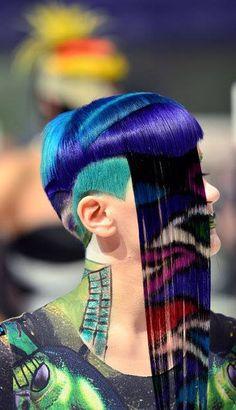 hair....