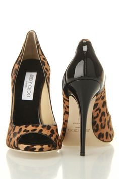Jimmy Choo Tanis Leopard Print Pony Pumps In Camel  #JimmyChoo  #shoes