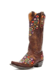 I never thought I would want a pair of cowboy boots! I love these, but not the price tag :) Women's Sora Boot - Brass/Multi