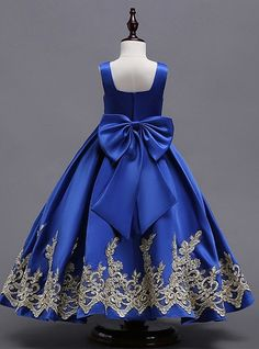 African Dresses For Kids, Latest African Fashion Dresses, Dresses Kids Girl, Girls Party Dress, Flower Girl Dresses, Blue Dresses For Kids, Children Dress, Dress Prom, Prom Dresses