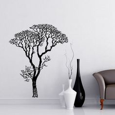 Bare Tree 58x72 Black, $45, now featured on Fab.