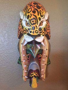 Costa Rica - Tribal Boruca Mask - Cheetah