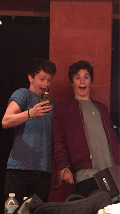 Bronnor << No, no this is Brad and Connor, get it right sheesh.