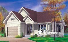 Discover the plan 2250 - Brunswick from the Drummond House Plans house collection. Total living area of 1103 sqft. Bungalow, Drummond House Plans, House Blueprints, Garage Plans, Old Houses, Tiny Houses, Affordable Housing, Living Area, Farmhouse