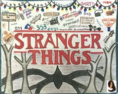 Super cool and fun Stranger Things drawing Stranger Things Girl, Stranger Things Aesthetic, Eleven Stranger Things, Stranger Things Netflix, Printable Poster, Doodle Art, Sketches, Drawings, Drawing Drawing