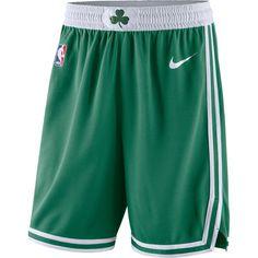 Men s Boston Celtics Nike Green Icon Swingman Basketball Shorts 11c841c49