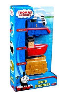 My First Thomas & Friends Bath Buddies Squirter Scoop Strainer Fisher Price