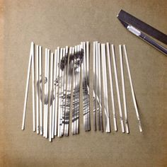 Spanish artist Susana Blasco uses old photographs, a cutter knife and glue to create interesting compositions and optical illusions with her handcrafted collages. More collages… Collage Kunst, Collage Art, Paper Collages, Collage Frames, Art Journal Inspiration, Art Inspo, Creative Inspiration, Collage Techniques, Paper Weaving