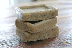 LUSH copycat recipe for in-shower exfoliating lotion bar that will do wonders for dry winter skin!