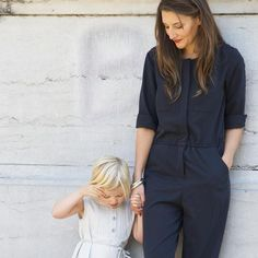 La Maison Victor | Elisabeth Jumpsuit pattern + video                                                                                                                                                                                 More