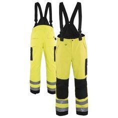 Portwest S771 Bizflame Waterproof Rain FR Reflective Protective Adjustable Pants