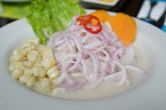 Peruvian Ceviche from the CIA at Pearl