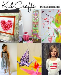 Kids Crafts Ideas >> #CreateandInspire Features and a whole lot more!!