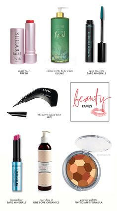 7 beauty favorites