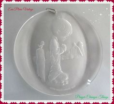 Precious Moments Christmas Tree Ornaments by EauPleineVintage