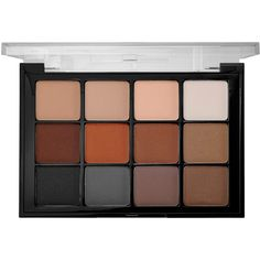 Viseart Viseart Eyeshadow Palette (42.780 CRC) ❤ liked on Polyvore featuring beauty products, makeup, eye makeup, eyeshadow, fillers, beauty, palette eyeshadow, eye brow kit, eyebrow kit and eye brow makeup