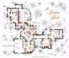 Famous Television Show Home Floor Plans (5)