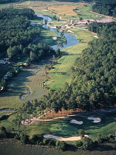 Pearl Golf Links Calabash, NC - East Course, 17th green and 18th hole