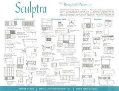 Broyhill Premier Sculptra Brochure.  One of each please!!!