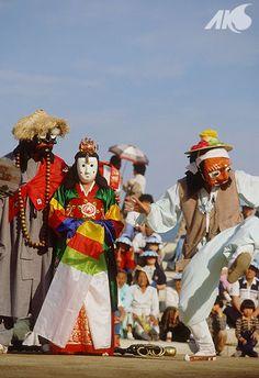 Bongsan Talchum (masked dance)