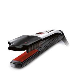 Valera Sistema Combinato Stiracapelli + Brushing Istantaneo Swiss'X - Super Brush & Shine Set Nero E Rosso 100-240 V     49.99