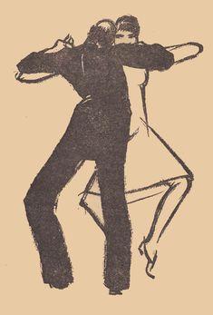 Paul Colin, illustrations pour les mémoires de Joséphine Baker (1927)