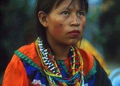 Mujer de la comunudad indígena Waunana Colombia
