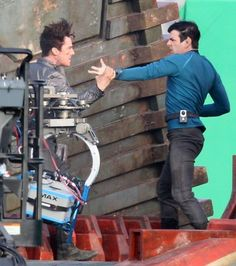 Snapshot of the Spock vs Khan fight.