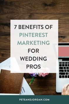 7 Benefits Of Pinterest Marketing For Wedding Pros   It's time to get pinning! Check out our blog post to see why Pinterest is so important to invest time into as a wedding pro and to discover some tools we use to make our lives a whole lot easier! #pinterest #pinterestmarketing #socialmedia #socialmediamarketing # weddingpros #weddingindustry #wedding #weddingphotographers #benefitsofpinterest #peteandjordan #organictraffic #marketing #digitalmarketing #marketingstrategies Best Photography Blogs, Photography Business, Business Articles, Business Tips, Planner Tips, Pinterest Marketing, Social Media Marketing, Business Marketing, Creative Business