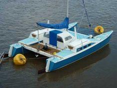 Catamaran Sailboats For Sale, Catamaran For Sale, Power Catamaran, Sailing Catamaran, Cheap Boats, Cool Boats, Boat Blinds, Sailboat Plans, Carport Designs