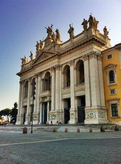 Basilica di San Giovanni in Laterano, dôležiý v rannom kresťanskom Ríme (313-324 p.n.l.)