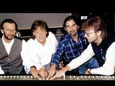 Our TBU Editors are very selective of adding any photoshops, but we all love the addition of John into this shot of Ringo, Paul and George at work on The Beatles Anthology