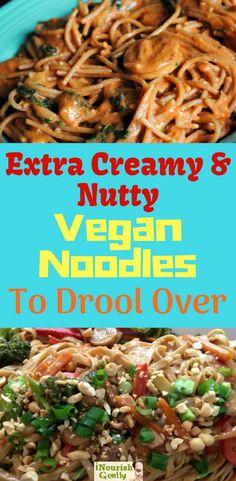 creamy vegan noodles