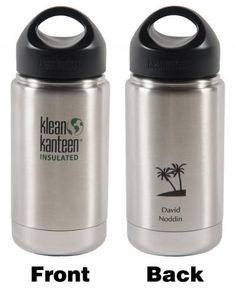 Personalized 12oz Insulatned Klean Kanteen! Choose your design and personalization!