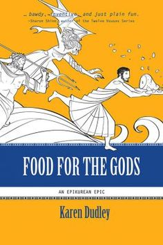 "The @winnipegnews reviewed Karen Dudley's Food for the Gods this weekend, describing it as ""an entertaining work of historical fantasy chronicling Pelops's reincarnation as a chef in Athens"" and an ""inspired, tragic yet comical variation on the Greek myth."" Reviewer Jennifer Pawluk is thrilled with the culinary twist on the classic story and writes that ""Dudley has retold the story of Pelops with an intriguing complexity that is unquestionably original."""