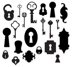 Free Keys and Locks SVG