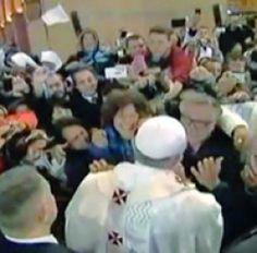 Il Papa riabbraccia i friulani che salvò  - Cronaca - Messaggero Veneto