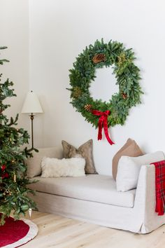My Home Decorated for Christmas... - Rach Parcell After Christmas, Christmas Mood, Christmas Wreaths, Christmas Decorations, Christmas Stuff, Merry Christmas, Christmas Greenery, Family Christmas, Advent
