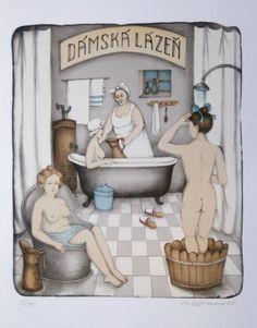Iva Hutnerova Stage Decorations, Surrealism, Folk Art, Poster, Painting, House, Photos, Photo Illustration, Paintings