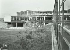 Catford County High School: exterior. 1955 Local History, Genealogy, No Time For Me, Growing Up, Past, High School, Exterior, Memories, London