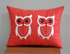 Owl cushion can be bought on Etsy
