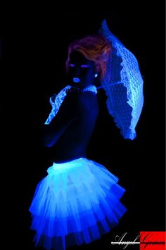 Glowing Glamour Black Light Photo shoot<3<3 Designing and Creativity in Progress <3 ENVIED WEDDINGS & EVENTS www.enviedweddingsandevents.com  <3 If you live in Oregon and want your wedding or event to be unique and special, contact us! <3<3