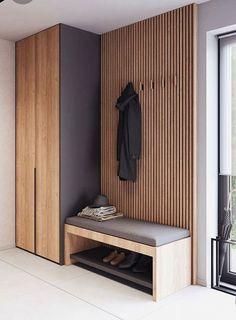 Home Entrance Decor, House Entrance, Home Decor, Home Room Design, Home Interior Design, Entry Nook, Wardrobe Room, Hallway Designs, Apartment Interior