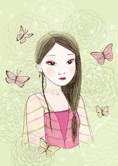 Madame Butterfly - Illustration - Manon-Godard
