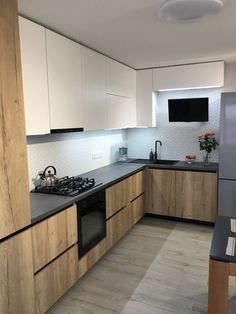 Kitchen Room Design, Bathroom Design Small, Home Decor Kitchen, Interior Design Kitchen, Kitchen Furniture, Apartment Interior, Apartment Design, Latest Kitchen Designs, Home Renovation