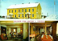 Hedmark fylke Trysil kommune  Østby Kjølen Hotell og Kro brukt 1976 Utg Normann