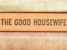 Vintage 1960s housewife's manual homemaking book by EAGERforWORD
