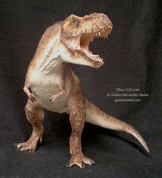 Tyrannosaurus rex 1/15 scale by GalileoN on DeviantArt