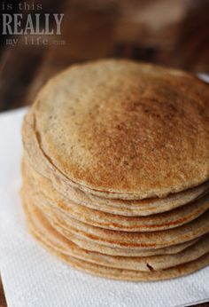 Biggest Loser pancakes for a healthier gluten free