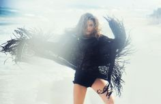barbara palvin beach shoot7 Barbara Palvin is a Beach Babe in Marie Claire Italia Shoot